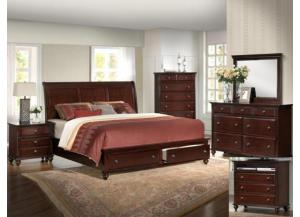 Portsmouth Storage Queen Bed