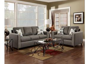 Image for Vivid Onyx Loveseat