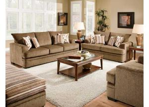 Image for Cornell Cocoa Sofa & Loveseat