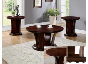 Daria 3pc Set (Coffee Table and 2 End Tables)