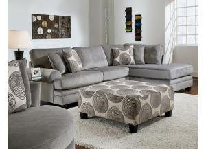 Groovey Smoke Sectional