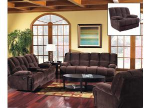 Donna Chocolate Loveseat
