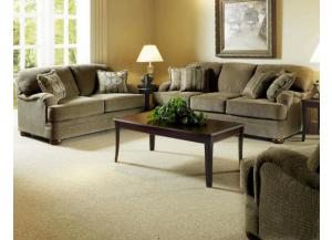 Heavenly Suede Loveseat
