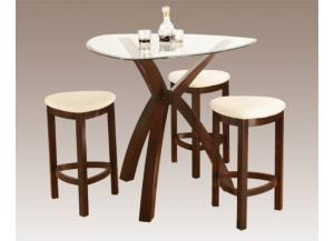 Image for Sunny Pub Set Table w/3 Stools