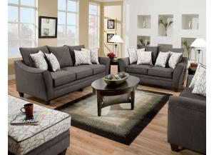Image for Flannel Seal Loveseat