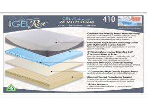 Boyd's Gel Rest 410 Deluxe Memory Foam Queen Mattress & Boxspring Set