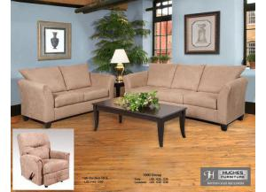 Image for Serta Upholstery Sienna Mocha Sofa W/ Loveseat Set