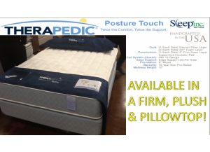 Spring Air Double Sided Flippable Firm Twin Mattress & Boxspring Set