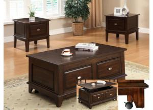 Harmon 3pc Set (Coffee Table and 2 End Tables)