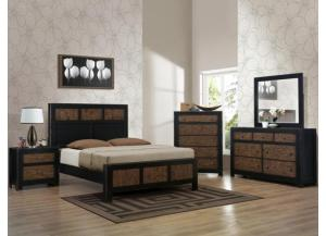 Chatham Queen Bedroom Set (Queen Bed, Dresser/Mirror, & Chest)