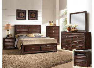 Stella Storage King Bedroom Set (King Storage Bed, Dr/Mirr & Chest)