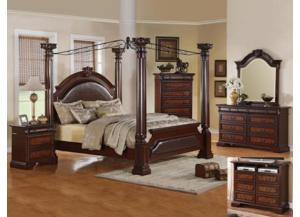 Neo Renaissance Post Queen Bed
