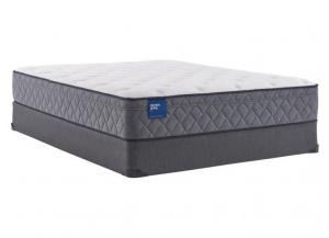 Image for Sealy Scallop Pearl Plush Eurotop King Mattress