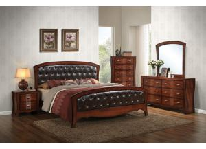 King Bedroom Set (King Bed, Dresser/Mirror, & Chest)