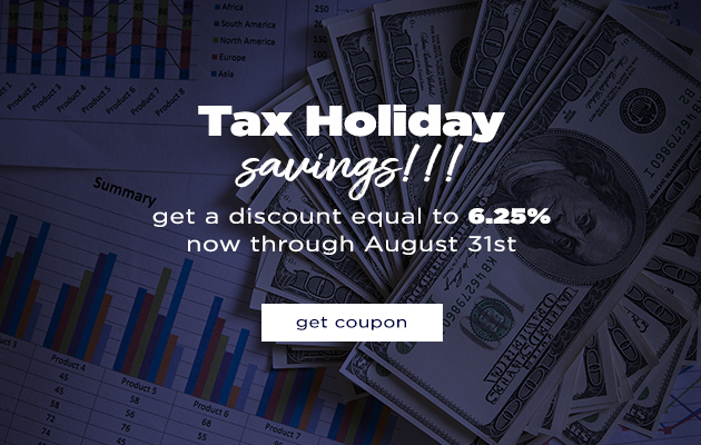 Tax Holiday Savings