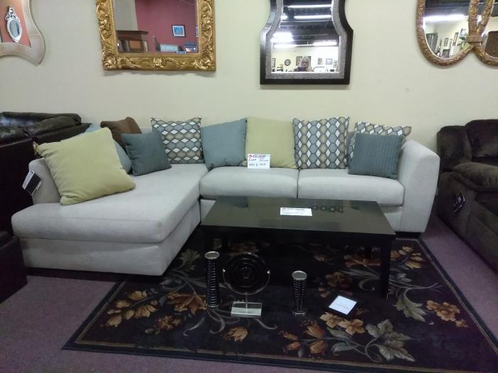 2pc Sectional,Home Gallery Showcase