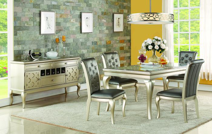 Shamrock Table & 4 Chairs,Home Gallery Showcase