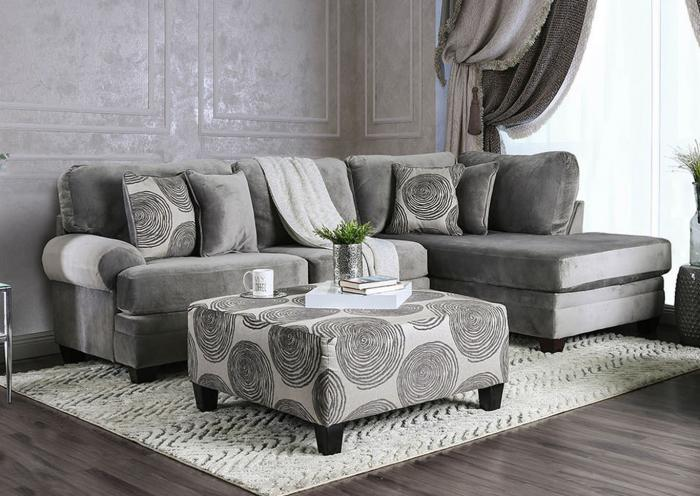 2 Piece Sectional ,Home Gallery Showcase