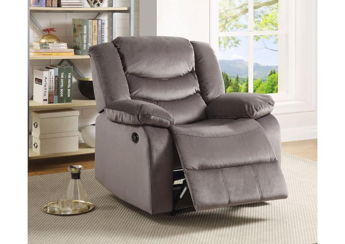 Lifestyle Gray Power Recliner,Home Gallery Showcase