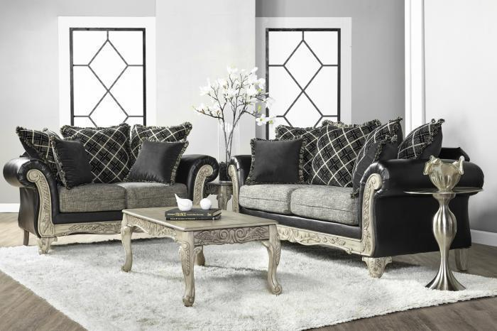 Hughes 7925 Sofa & Loveseat,Home Gallery Showcase