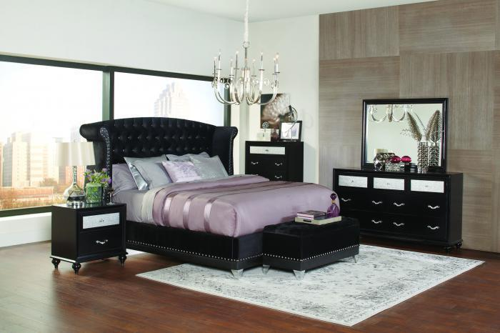5Pc Queen Bedroom Set,Home Gallery Showcase