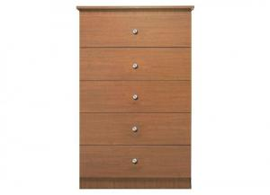 Lifestyle Oak 5 Drawer Chest