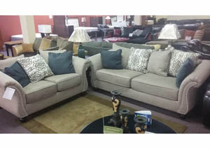 Sofa and Loveseat $897 As-Is