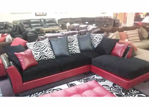2 piece sectional $597 As-Is