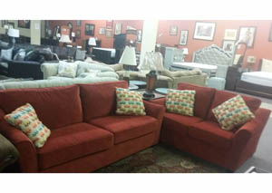 Sofa and Loveseat $797 As-Is