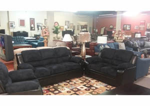 Sofa, loveseat and chair for $747 As-Is