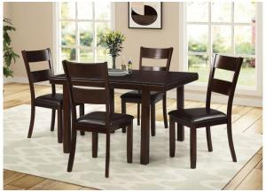 5 pc dining set Table and 4 chairs