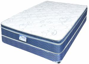 Ditex Twin Imperial Touch Pillow Top Mattress w/Foundation