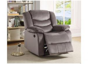 Lifestyle Gray Power Recliner