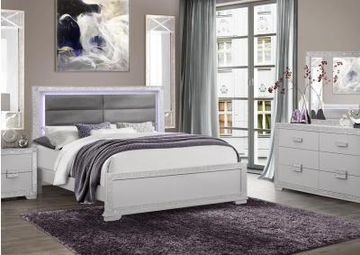 Image for Global Chalice Queen Bed, Dresser & Mirror