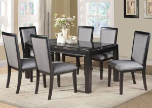 Black and Gray 5 Piece Dining set