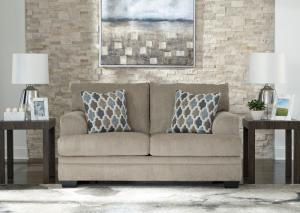 Gray Fabric Dorsten Loveseat