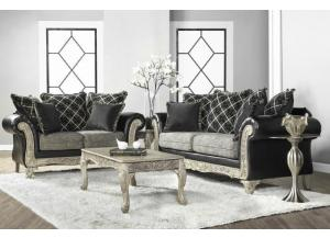 Hughes 7925 Sofa & Loveseat