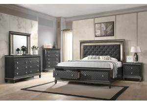 Image for Lifestyle 8305 Charcoal Nightstand