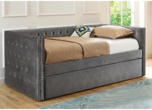 Grey Daybed with Trundle