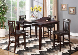5pc Set Table and 4 Stools
