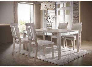 Home Source Silver 5 Pc Dining Set