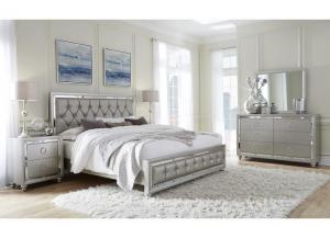 Riley Silver Queen Bed