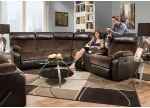 United 2 Piece Reclining Sectional,Home Gallery Showcase