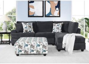 Flair Grey Sectional,Home Gallery Showcase