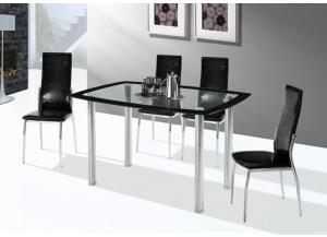 5 Piece Dining Set w/ Glass Top
