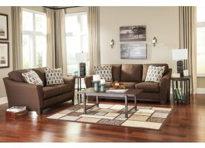 Janley - Contemporary Sofa and Loveseat