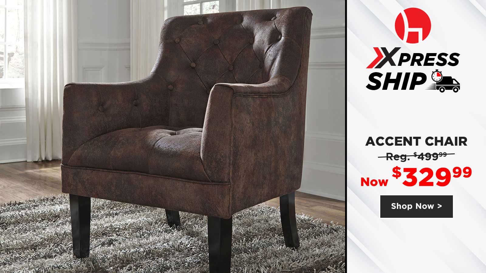 Accent Chair $329.99