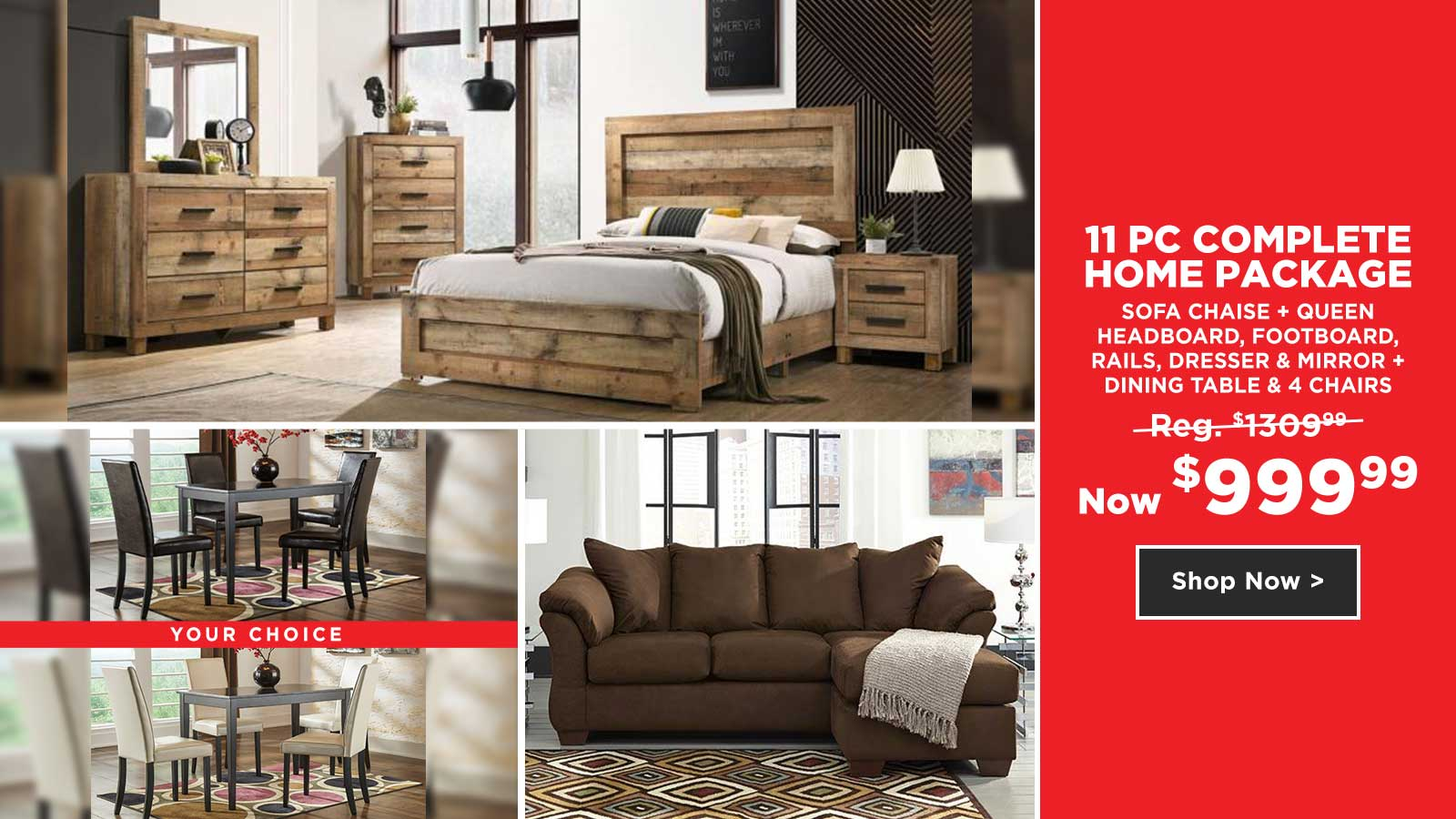 11 Pc Complete Home Package $999.99