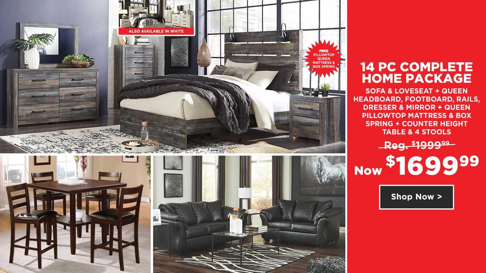 14pc Complete Home Package $1699.99