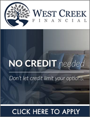 West Creek Financial Financing on Home Furniture